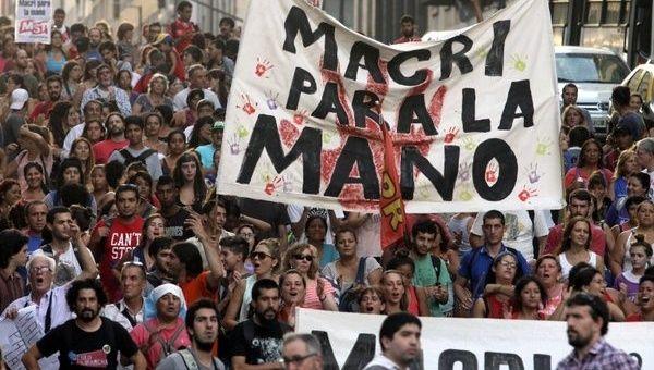 Convocan en Argentina a nuevo paro contra el Gobierno de Macri