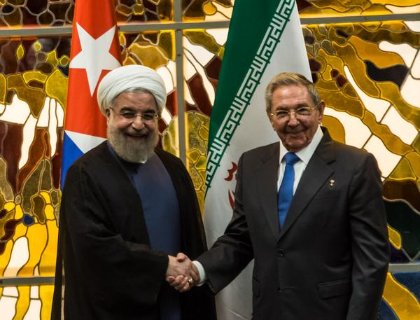 Raul Castro Receives the President of the Islamic Republic of Iran